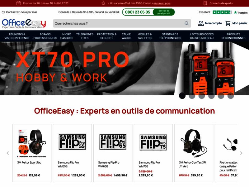 Téléphones Professionnels sur OfficeEasy.fr