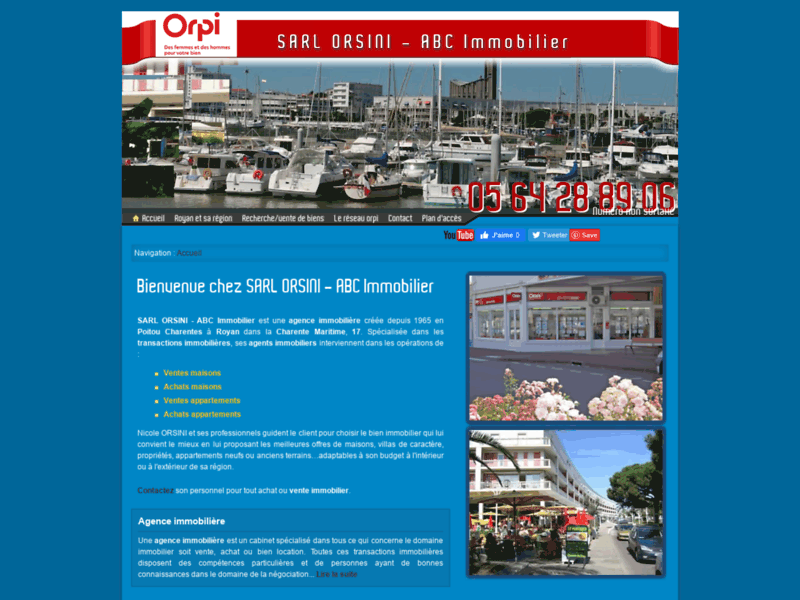 ABC Immobilier Orpi, agence immobilière