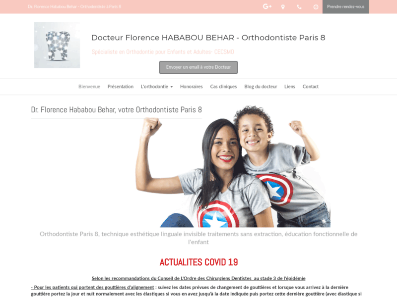 Orthodontiste Paris 8