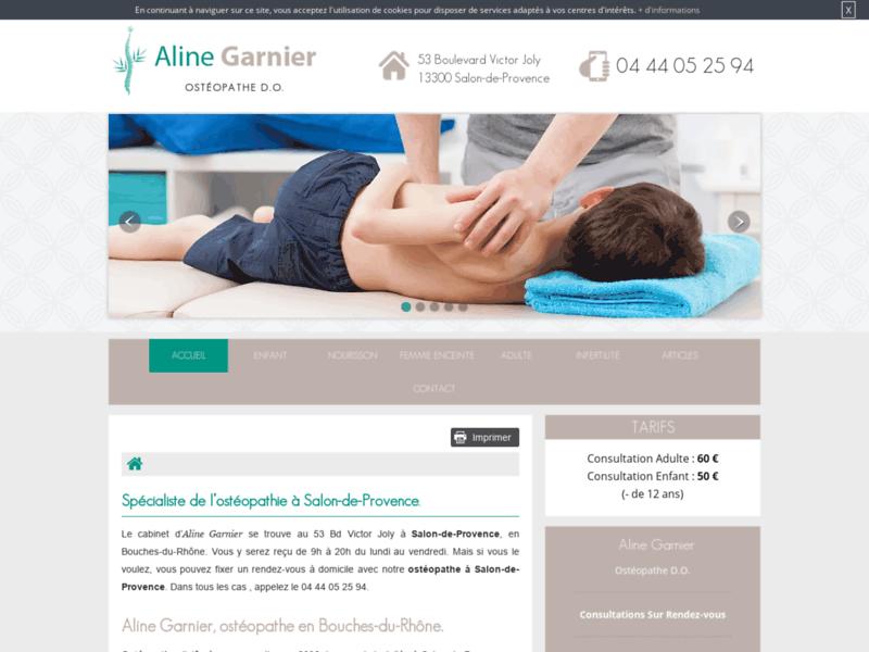 Ostéopathie sur Salon-de-Provence: Ostéo Aline Garnier