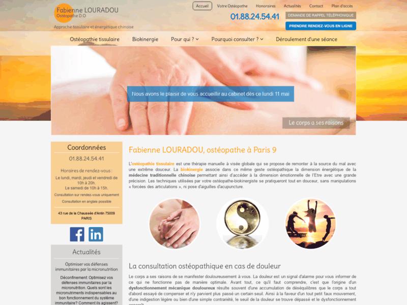 Osteopathe nourrisson Paris 9