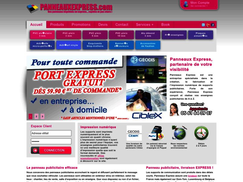 1ère page Google Perles-et-castelet : Panneau publicitaire
