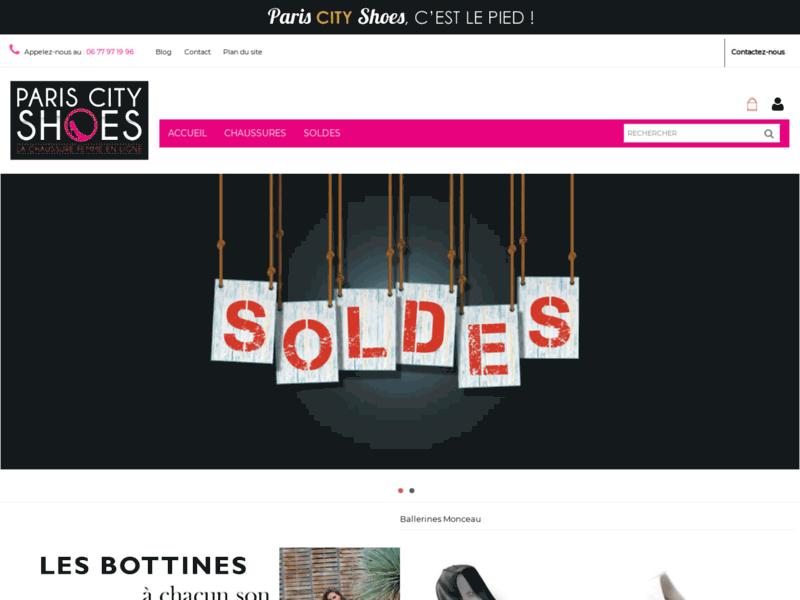 Chaussures Femmes pas cher : Paris City Shoes