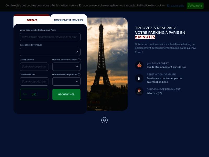 Paris France Parking, places de parking à Paris