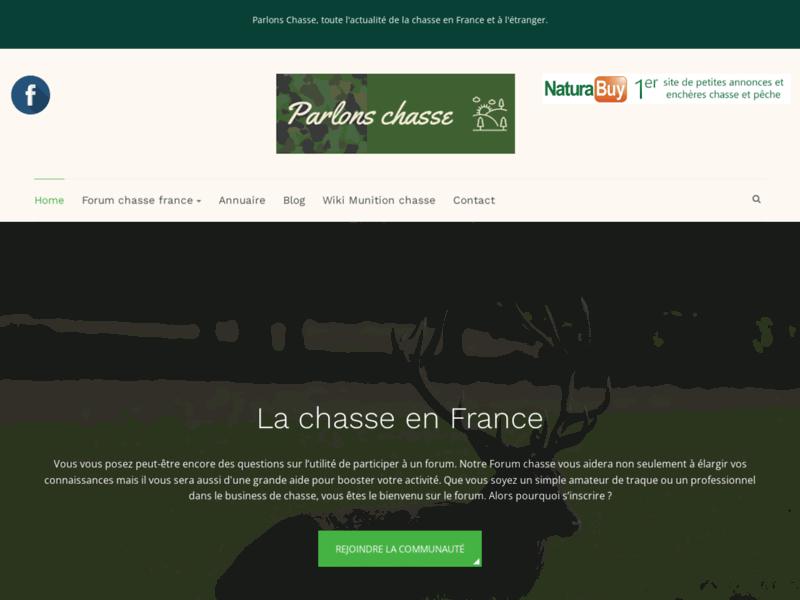 Parlons Chasse, actualité de la chasse en France