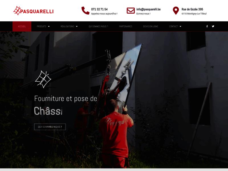Pasquarelli, entreprise de menuiserie à Charleroi