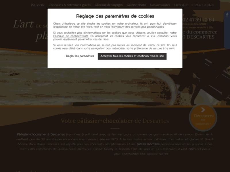 Pâtisserie Brault, pâtisserie chocolaterie à Descartes