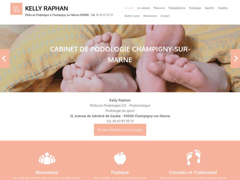 Kelly Raphan: Votre pédicure-podologue à Champigny-sur-Marne