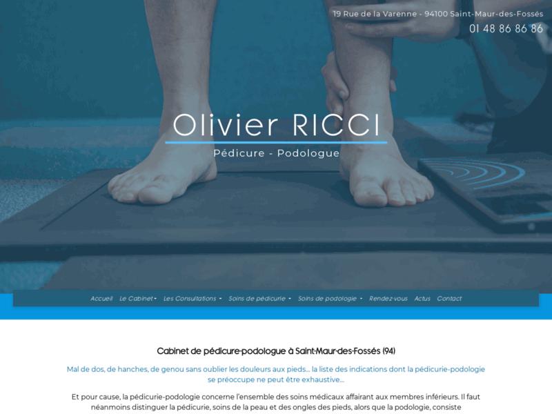 Podologue du sport à Saint-Maur-des-Fossés: Olivier RICCI