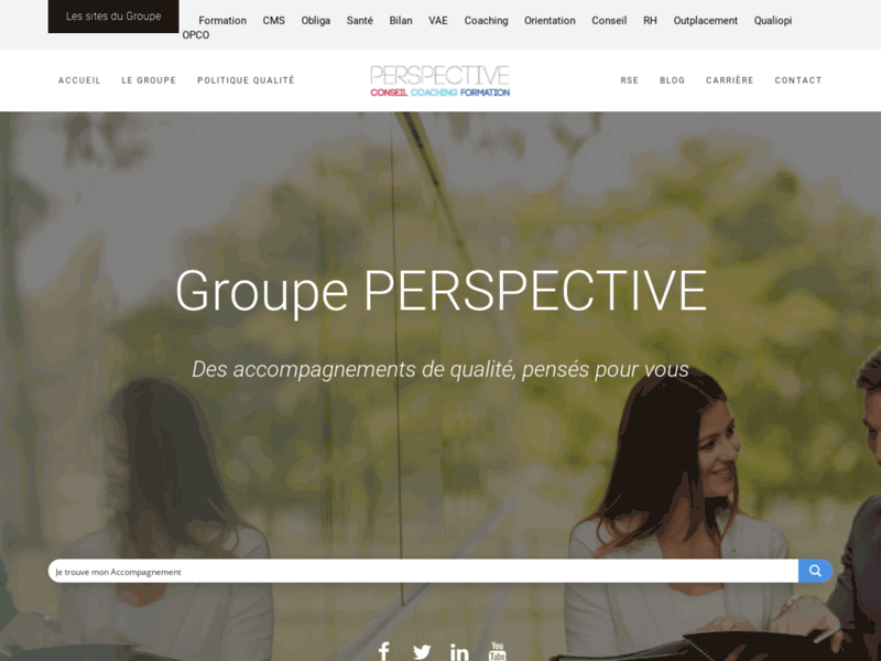 Perspective - Conseil Coaching Formation