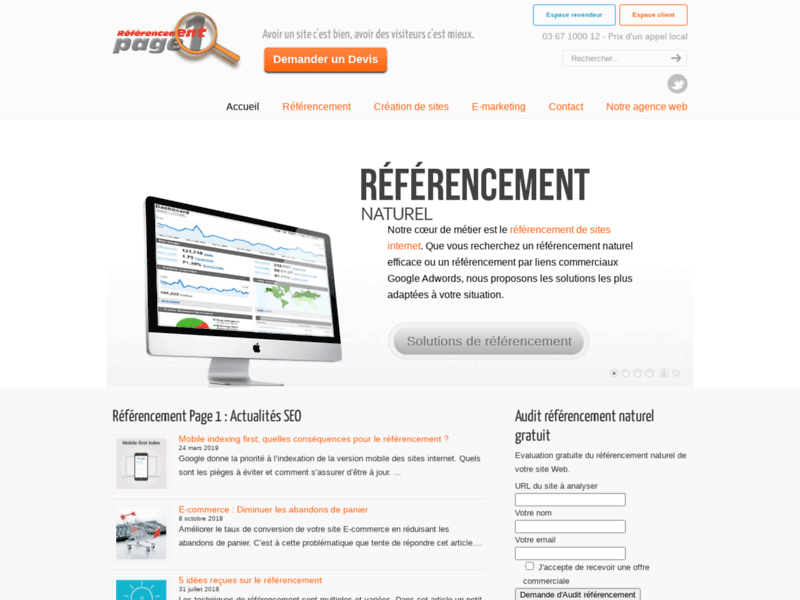 Referencement Google Strasbourg : Referencement
