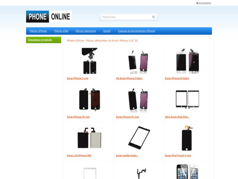 Phone Online - Ecran iPhone