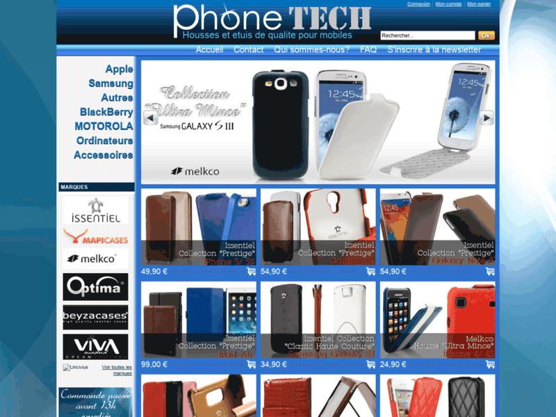 Housse cuir étui coque téléphone portable