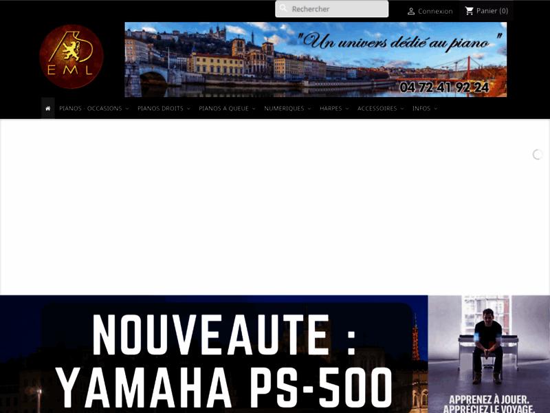 Boutique en ligne de pianos droits et à queue