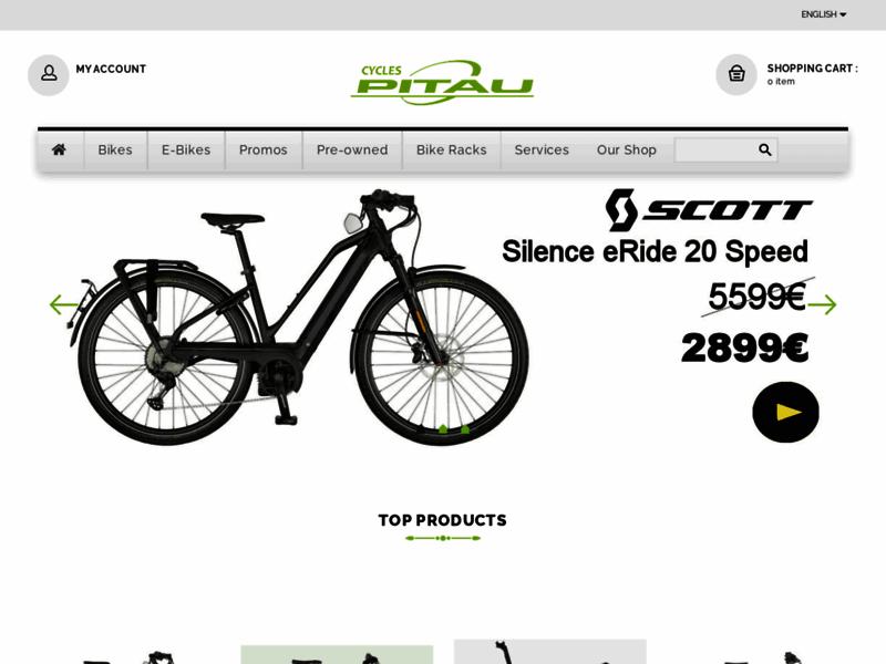 Cycles Pitau, spécialiste du vélo à Gosselies