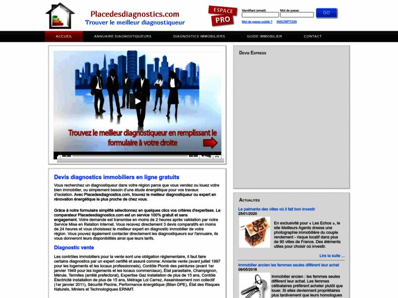 Diagnostiqueur immobilier certifié