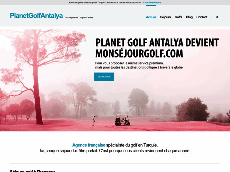 Le golf en vacances, pourquoi pas en Turquie ?