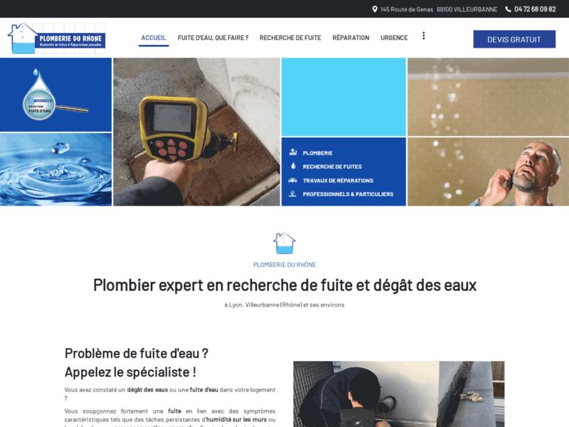 Plombier dans le Rhône (69)