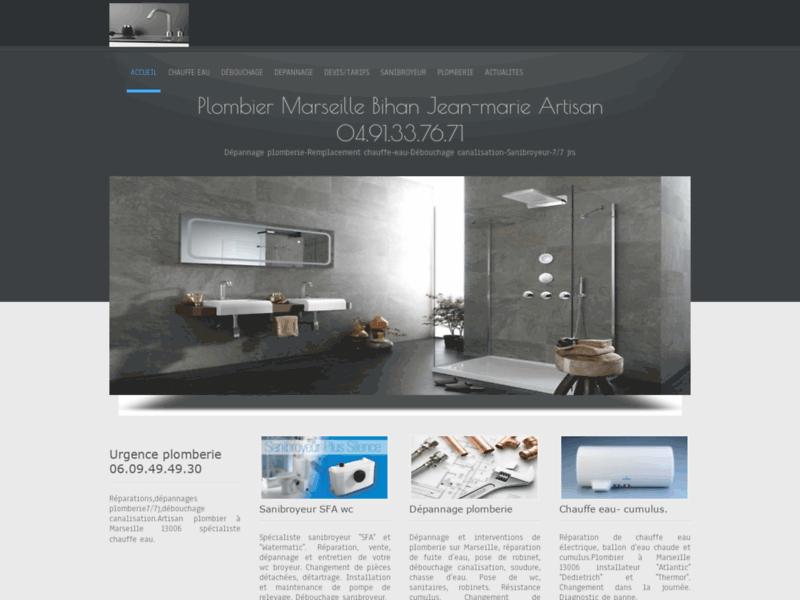 Plomberie dépannage : Plombier à Marseille