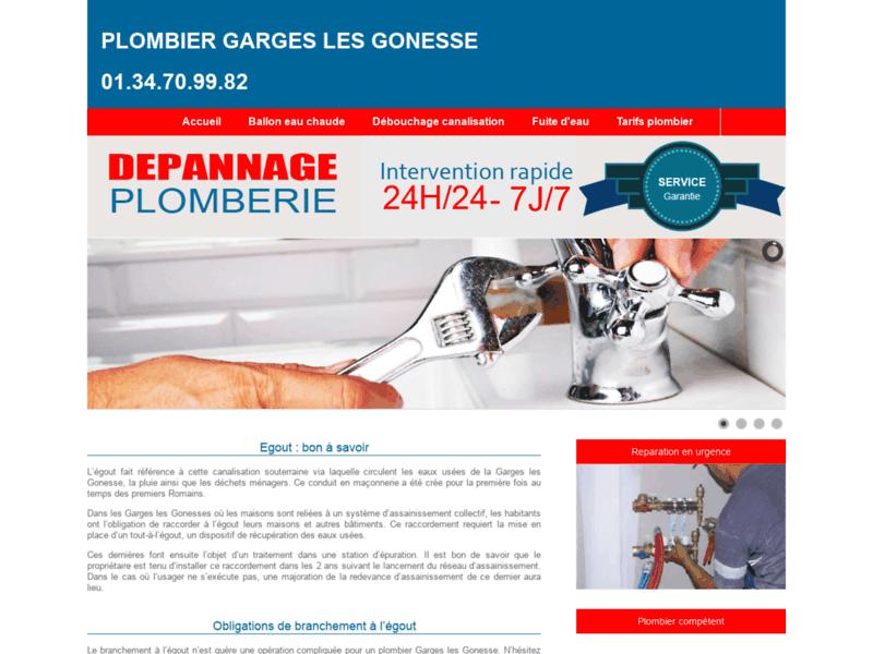Plombier Garges-Lès-Goness