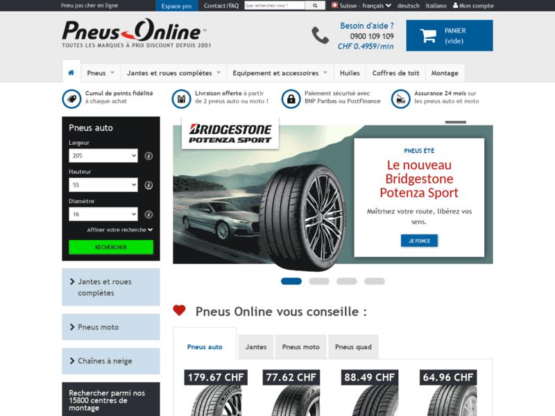 Pneus Online Suisse