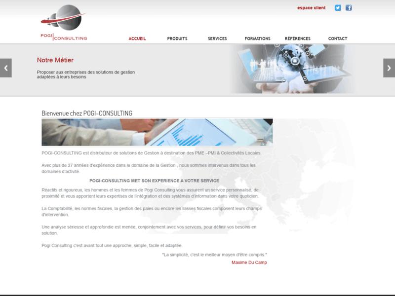 Pogi-Consulting - Editeur de logiciels de gestion