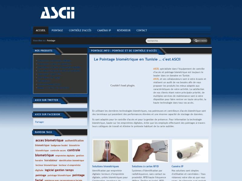 Pointeuse Tunisie : pointage biométrique