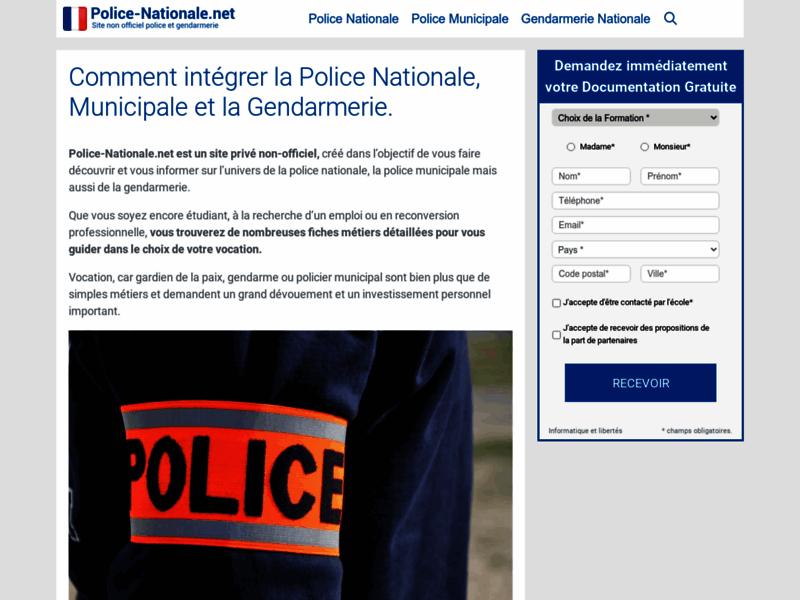 Un site inédit sur la Police Française