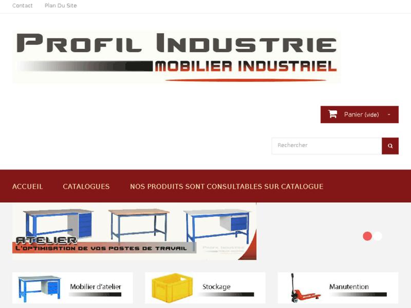 Mobilier pour professionnels, Profil Industrie