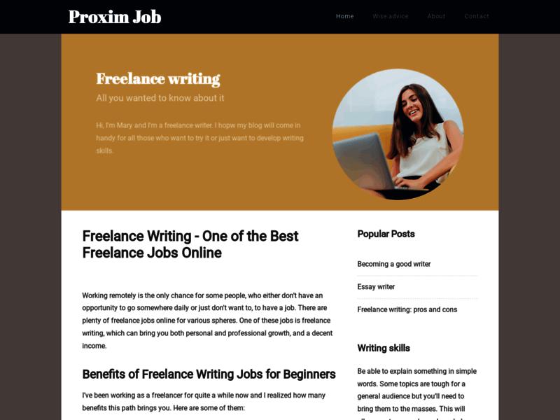 Proximjob - Trouvez un travail à proximité