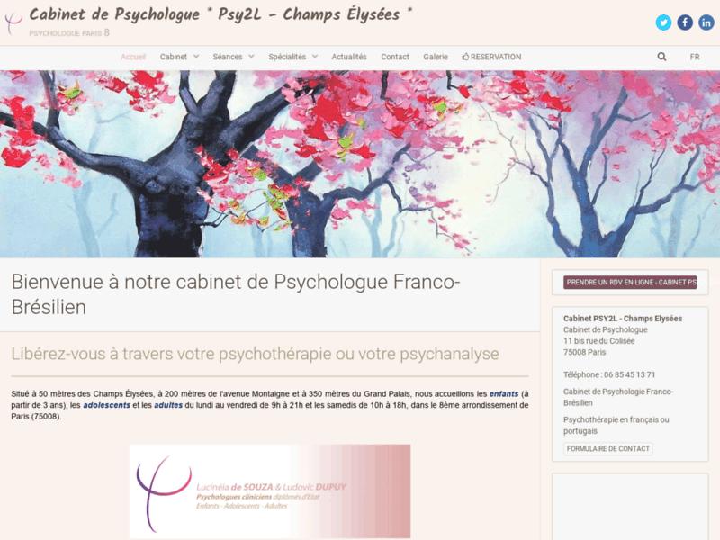 Psychologue Paris 8 - RDV Psychothérapie | Cabinet Psy2L