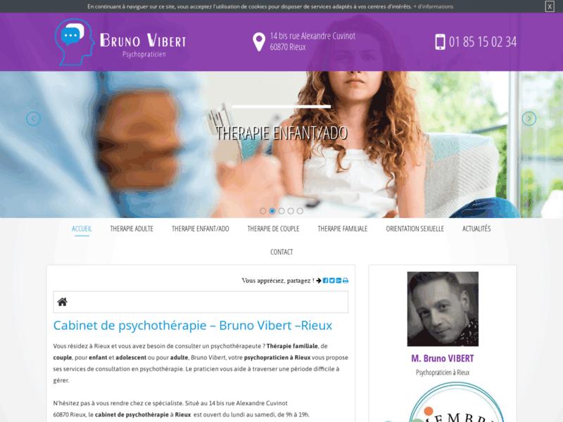 Bruno Vibert, psychopraticien pour adolescent à Paris