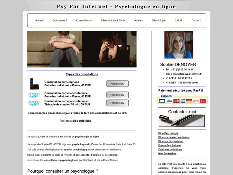 Psychologue en ligne : par téléphone et vidéoconférence