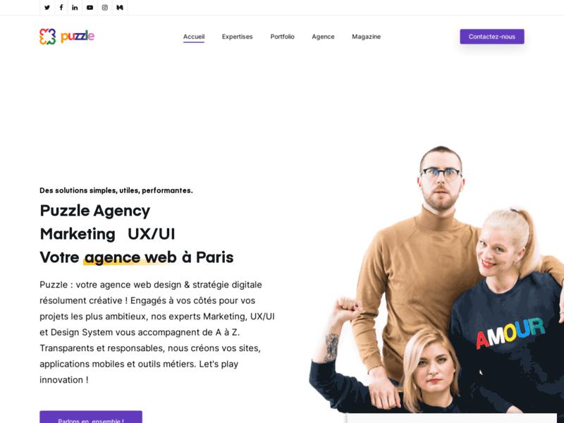 Puzzle Agency, agence web à Paris