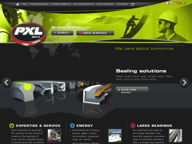 PXL Seals - Systèmes d'étanchéité et joints