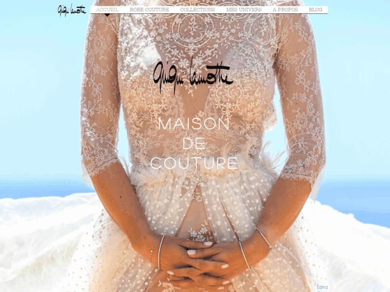 Robe de mariée couture dentelle