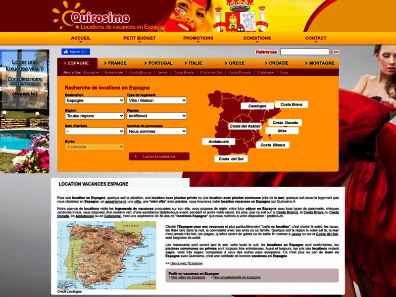 Quirosimo, location de vacances en Espagne