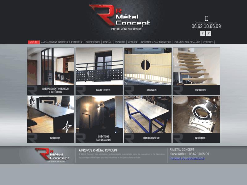 R Métal Concept, conception et la fabrication d'ouvrages métalliques