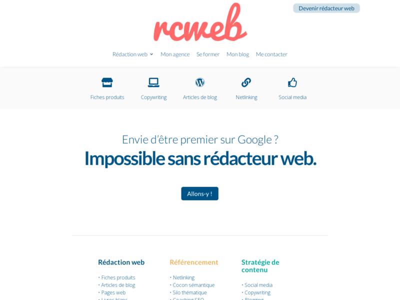 Rédacteur Contenu Web : indispensable !