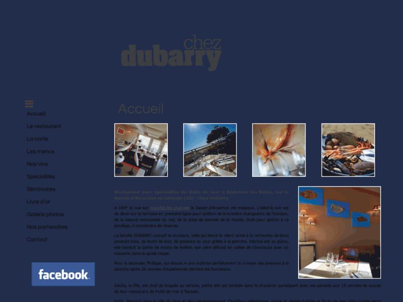 Chez Dubarry : Restaurant en bord de mer sur la Gironde (33)