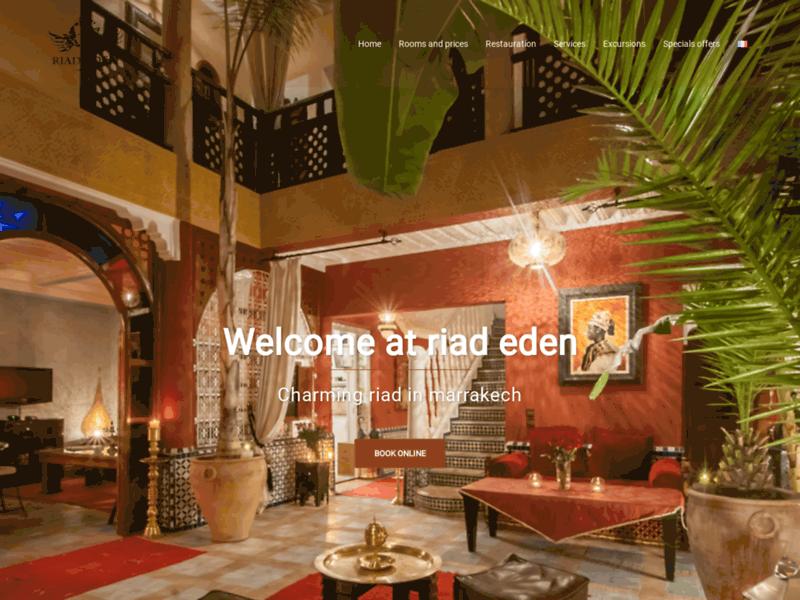 Riad Eden: hébergement dans la médina de Marrakech