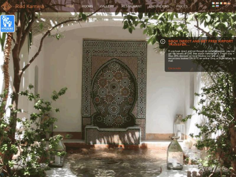 Riad Karmela, riad de charme à Marrakech