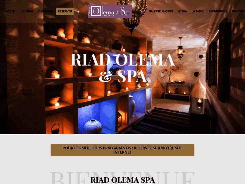 Riad Olema Spa, idéal pour un séjour en été