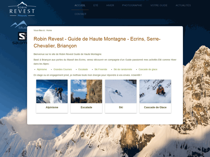 Guide Haute Montagne Ecrins