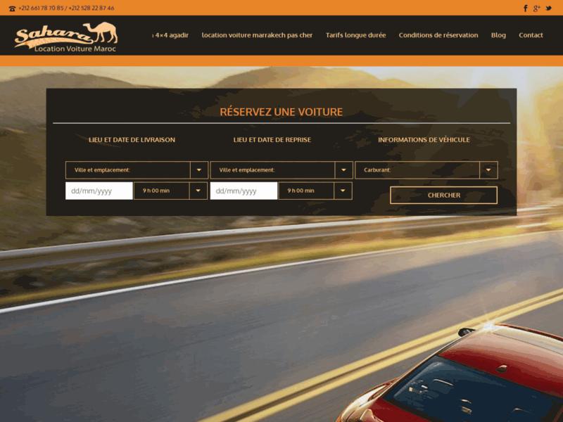 Sahara voiture, agence de location de voitures à Agadir