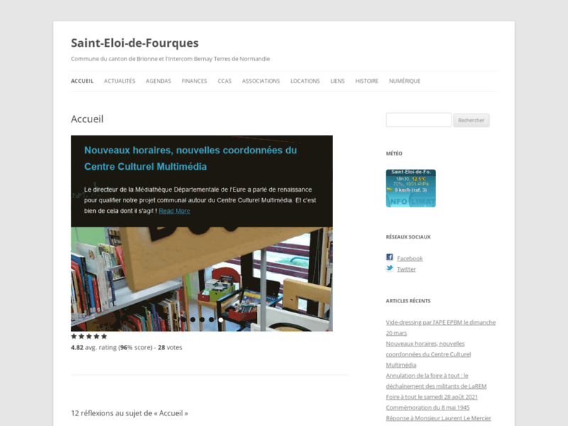 Saint-Eloi-de-Fourques - Commune du canton de Brionne et l'Intercom du Pays Brionnais