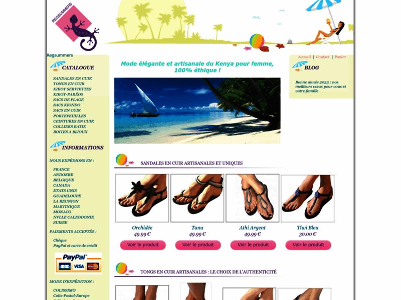 Regsummers : Sandales d'été