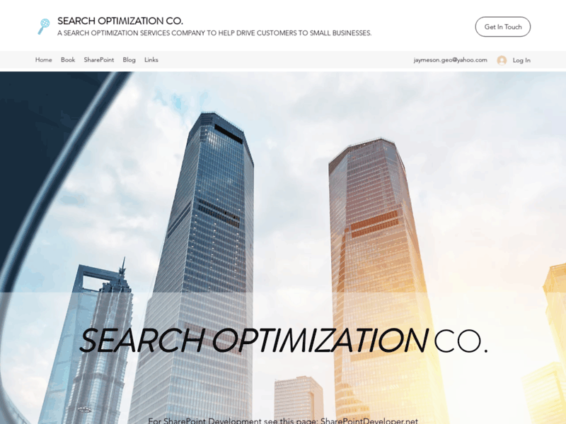 Website's screenshot : Search Optimization Co.