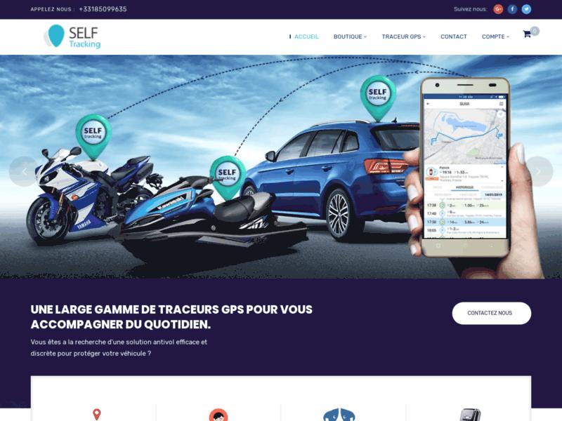 Self Tracking, mouchard GPS pour motos