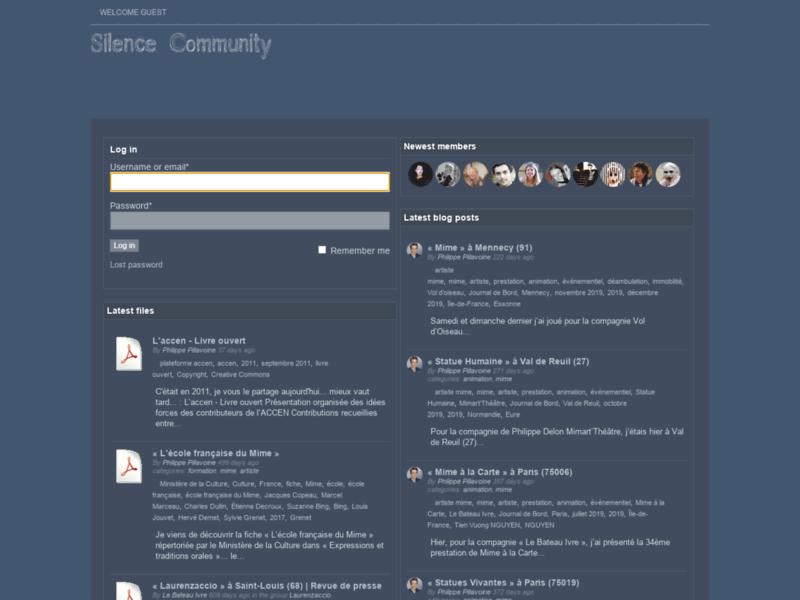 SilenceCommunity.com's Shop